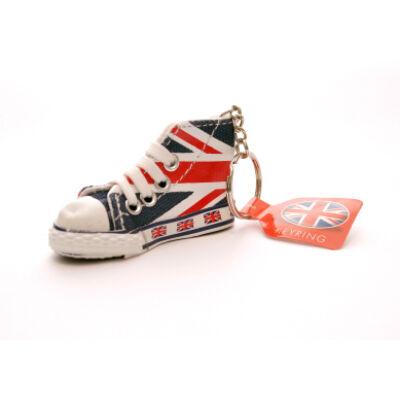 Union Jack Converse cipő kulcstartó