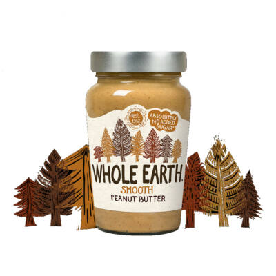 Whole Earth Original Smooth Peanut Butter 227g