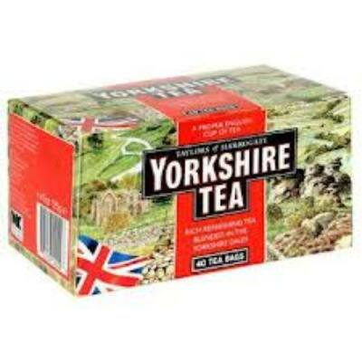 Yorkshire tradicionális fekete tea 40 filter
