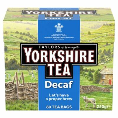 Yorkshire Decaf Tea 80 db filter