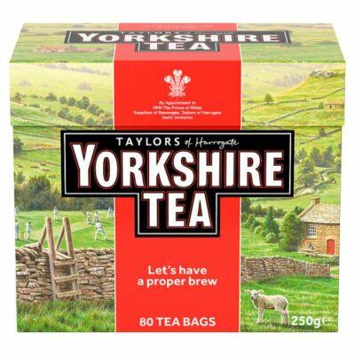 Yorkshire tradicionális fekete tea 80 filter